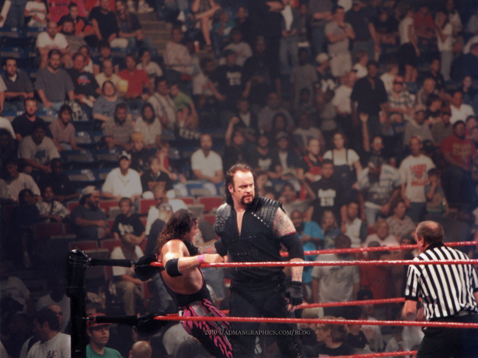 Free Wallpaper Undertaker 1997 Dan Poynters MadMania