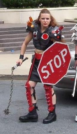 HUMVEE Drivers Stop Sign Shield