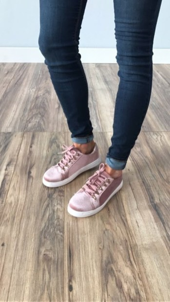Dusty Rose Tennis Shoes