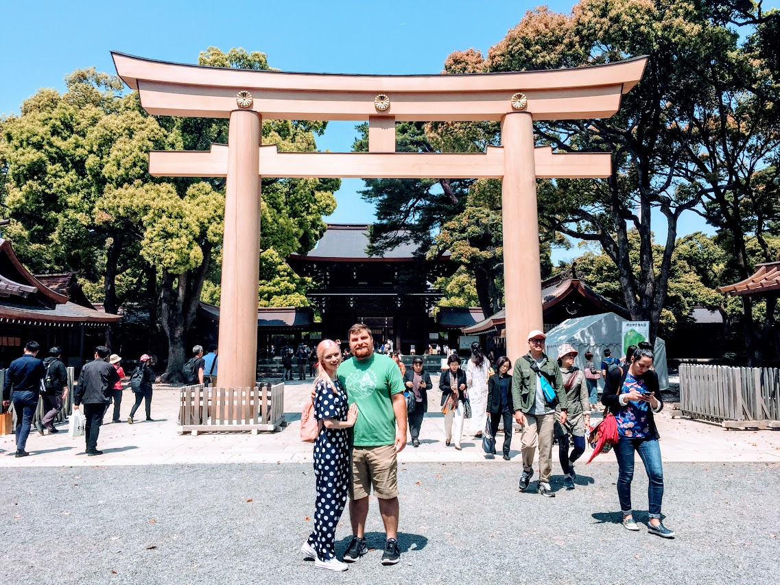 Exploring Harajuku