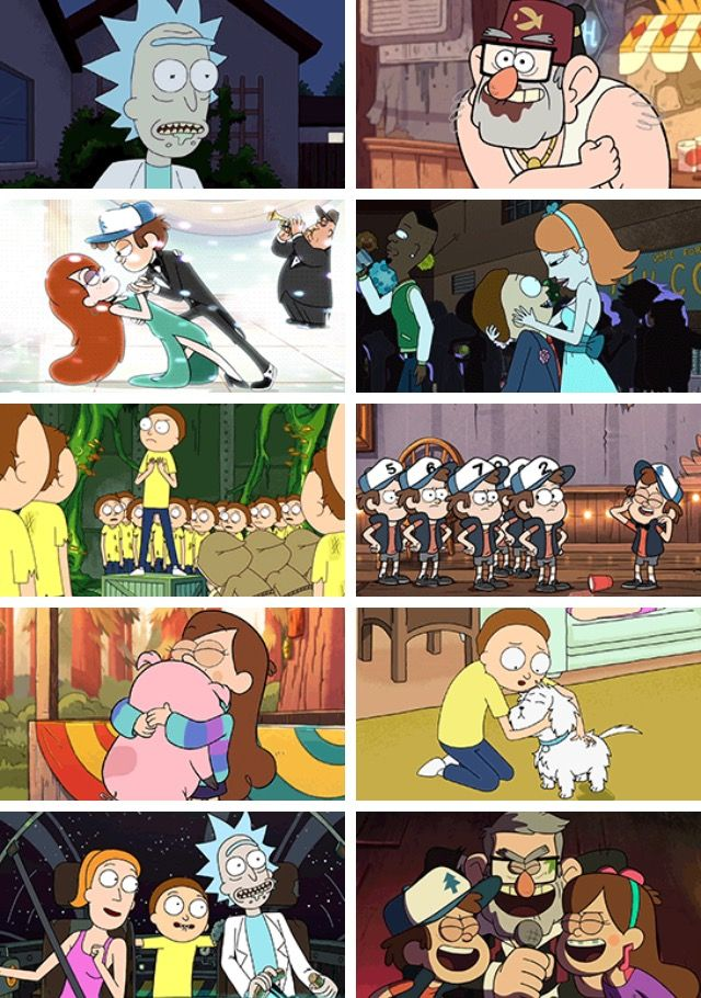 Gravity Falls Dipper And Wendy Wallpaper Gravity Falls Rick And Morty And Star Vs The Forces Of