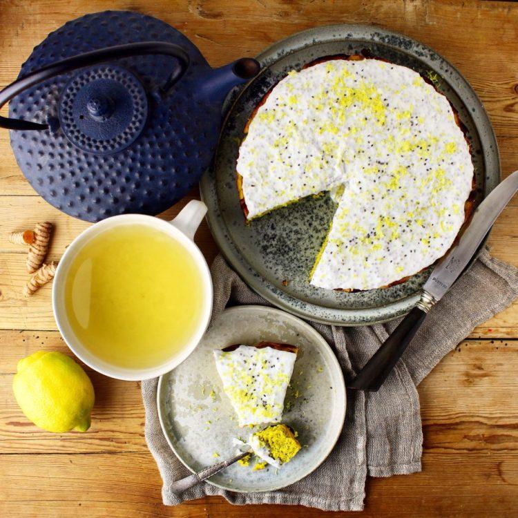 Citronfuldmåne - Glutenfri, mælkefri og sukkerfri - Mad med glød