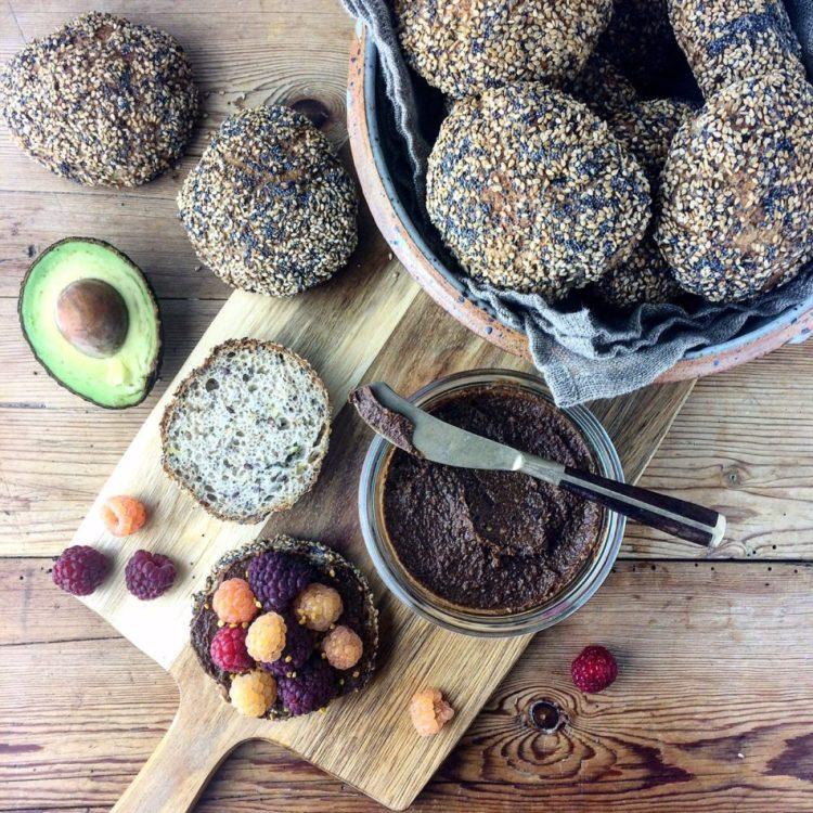 Glutenfrie boller med squash - Plantebaseret og glutenfri opskrift - Mad med glød