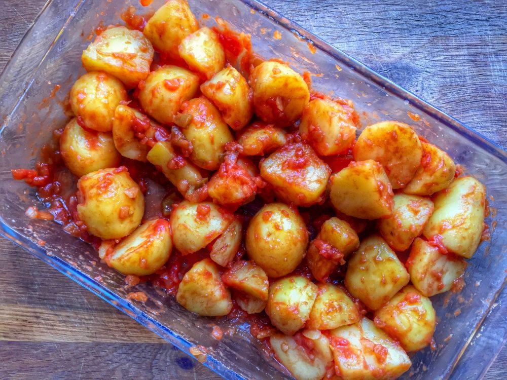 kartofler med salsa