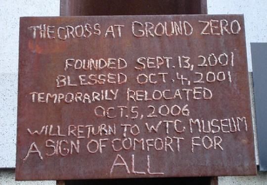 atheists sue cross at ground zero