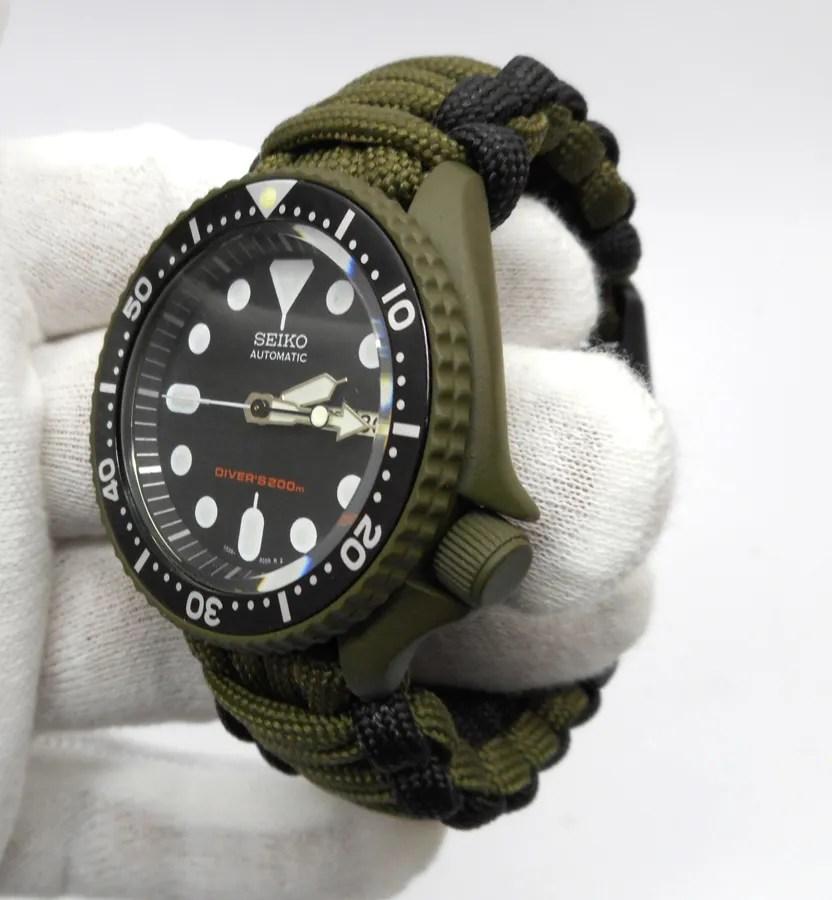 pre sale seiko mod 7s26 skx007 od green cerakote military free
