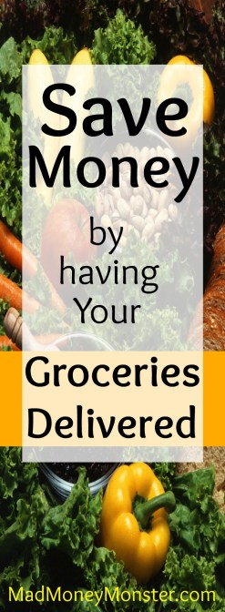Pinterest Pin - groceries delivered