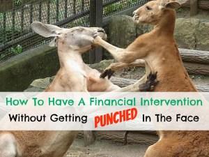 financial intervention - kangaroos