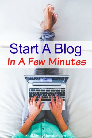 Start A Blog In A Few Minutes