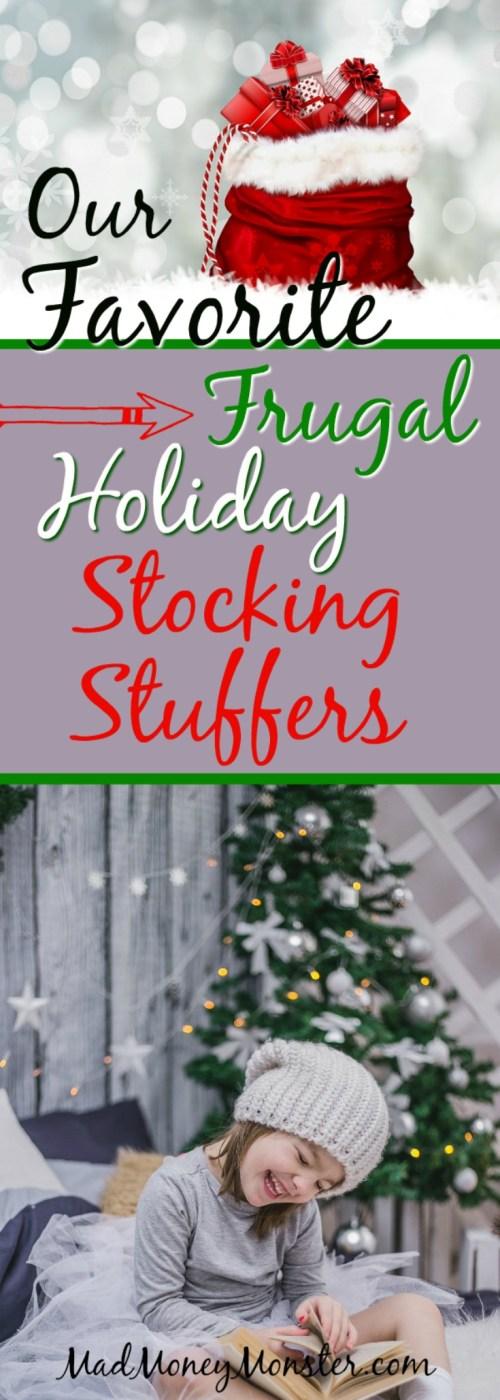Holiday stocking | Stocking Stuffer | Christmas Stocking Stuffer | Frugal Holiday Stocking Stuffer | Frugal Christmas Gifts via @MadMoneyMonster