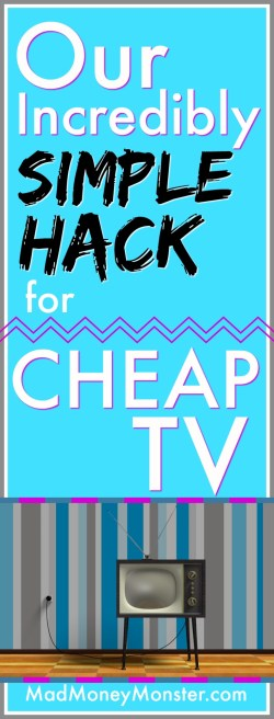Cheap TV | TV Hack | TV Streaming | TV Streaming System | Cord Cutter | Cut The Cord | Cable Cutter | Cancelling Cable TV | TV Alternatives via @MadMoneyMonster