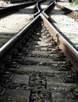 railroad tracks - change yourself