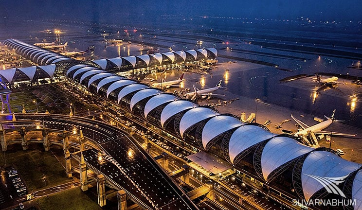 Suvarnabhumi international airport bangkok a backpackers guide