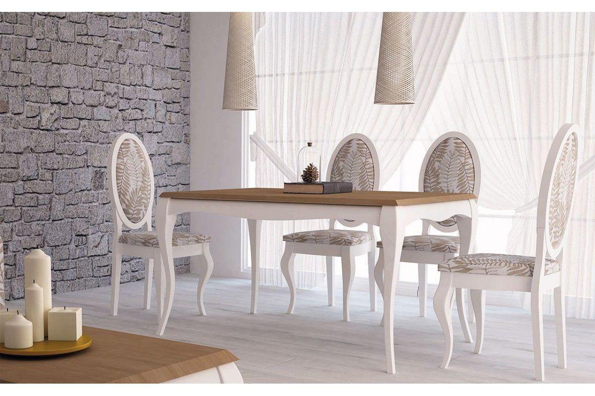 Mesas Versalles isabelinas modernas de madera Madmues