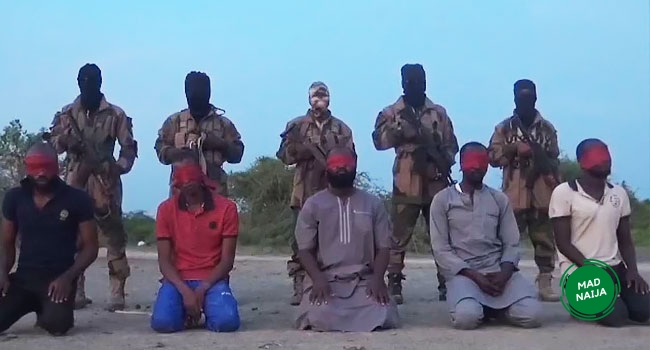 The aid workers were executed by Boko Haram terrorists