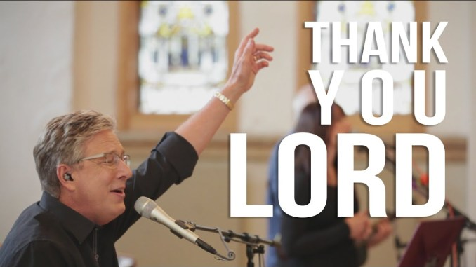 Don Moen – Thank You Lord