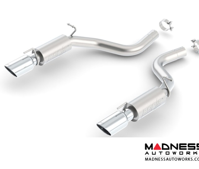 Dodge Charger Srt 8 Performance Exhaust By Borla Rear Section Exhaust Atak