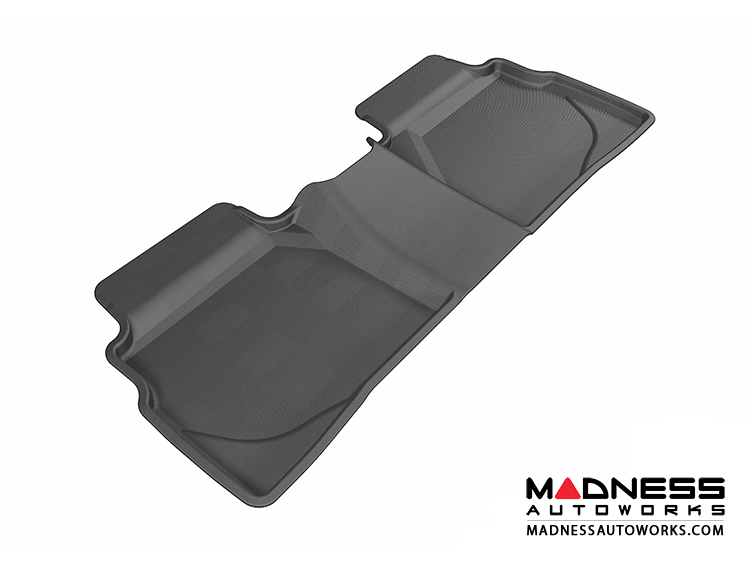 Hyundai  Hyundai Sonata Floor Mat  Rear  Black by 3D