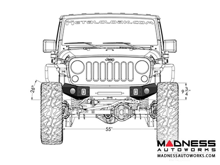 jeep wrangler bumper parts