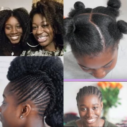 Natural Style Story With Sade Steff Big Hair No Care Afro