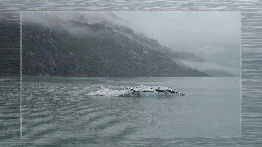 Eisschollen in der Glacier Bay (Alaska, USA)