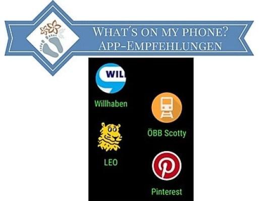 Blogtitel: What´s on my Phone? App-Empfehlungen