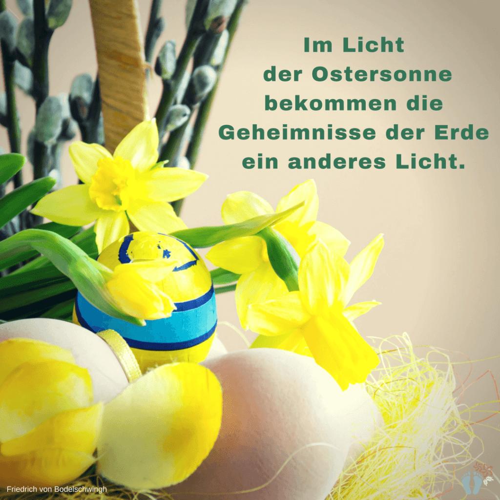Ostergruß von Friedrich von Bodelschwingh