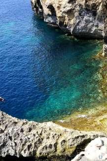 beim «Blue Hole» bei «San Lawrenz» auf «Gozo» {Reisetagebuch Malta: Tag 04}