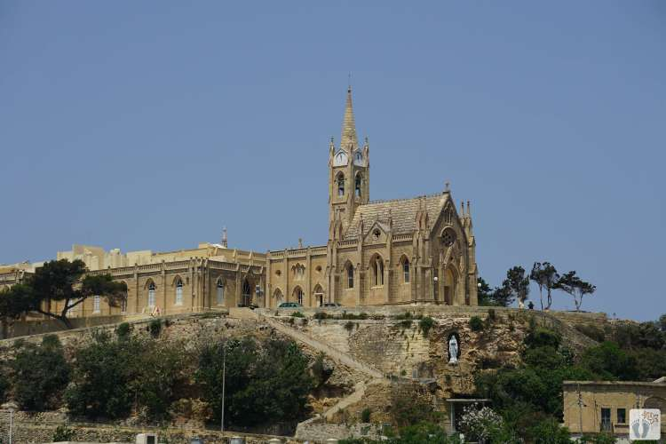 Kirche «Our Lady of Lourdes» in «Mġarr» {Reisetagebuch Malta: Tag 05}