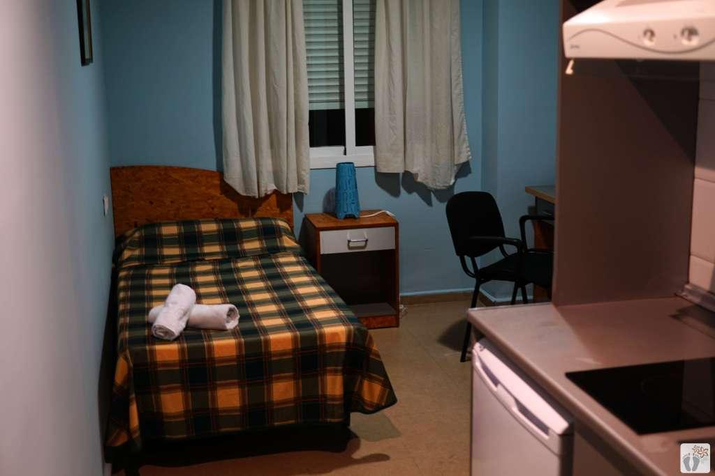 Málaga: Zimmer in der Unterkunft «Residencia Campus Confort San Carlos» {Andalusien Reisetagebuch}