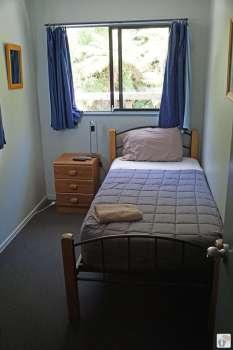 Zimmer in der «Ivory Towers Backpackers Lodge» {Reisetagebuch «Roadtrip durch Neuseeland mit dem Bus»: «Fox Glacier»}