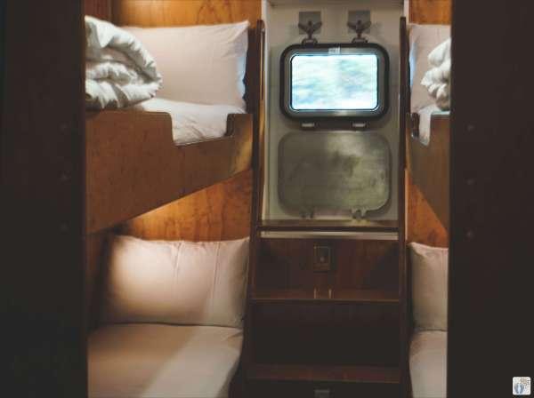 Kabine auf der «Fiordland Navigator» {Reisetagebuch «Roadtrip durch Neuseeland mit dem Bus»: «Doubtful Sound Overnight Cruises»}