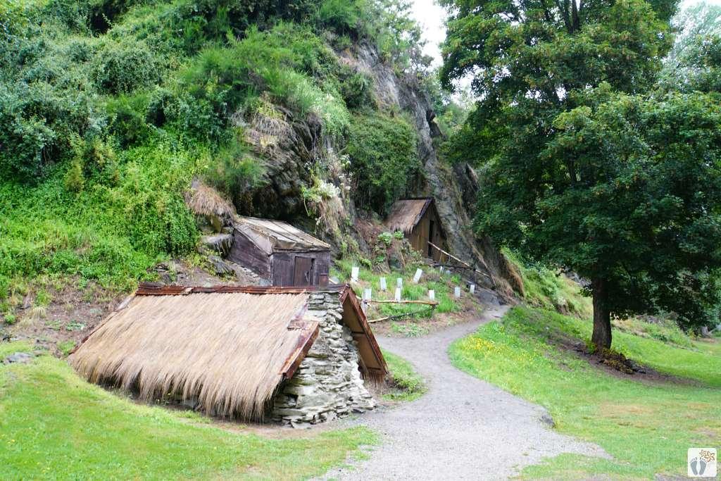 chinesisches Dorf - chinese Settlement {Reisetagebuch «Roadtrip durch Neuseeland mit dem Bus»: «Arrowtown»}