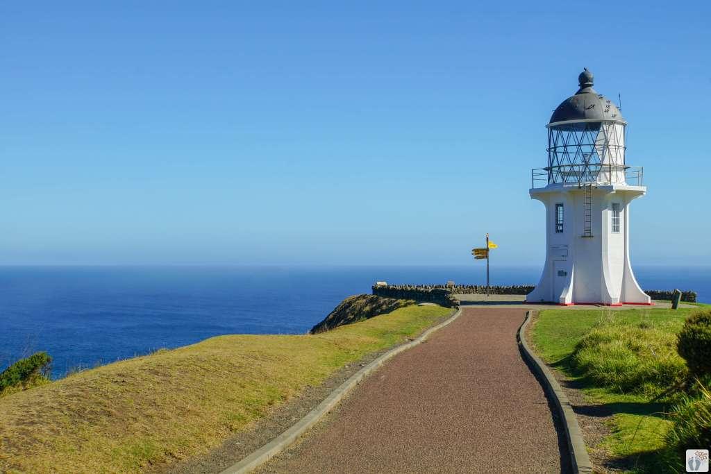 Cape Reinga Leuchtturm {Reisetagebuch «Roadtrip durch Neuseeland mit dem Bus»: Northland}