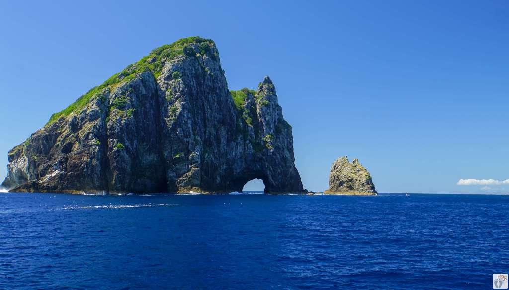 Hole in the Rock (Motukokako) {Reisetagebuch «Roadtrip durch Neuseeland mit dem Bus»: Bay of Islands}