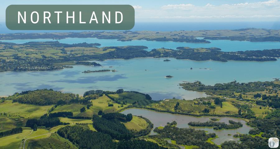 Northland aus der Vogelperspektive {Reisetagebuch «Roadtrip durch Neuseeland mit dem Bus»}
