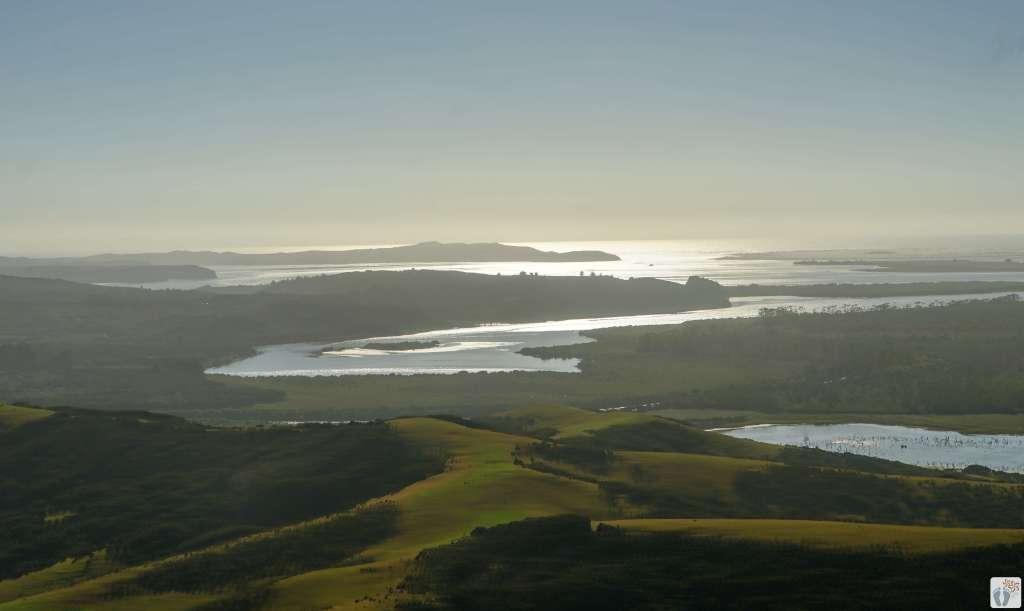 Northland und Bay of Islands aus der Vogelperspektive {Reisetagebuch «Roadtrip durch Neuseeland mit dem Bus»}