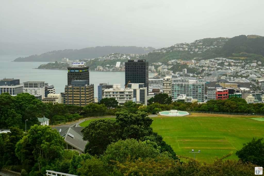 Stadtwanderung «City to Sea Walkway»: Ausblick auf «Wellington» {Reisetagebuch «Roadtrip durch Neuseeland mit dem Bus»}