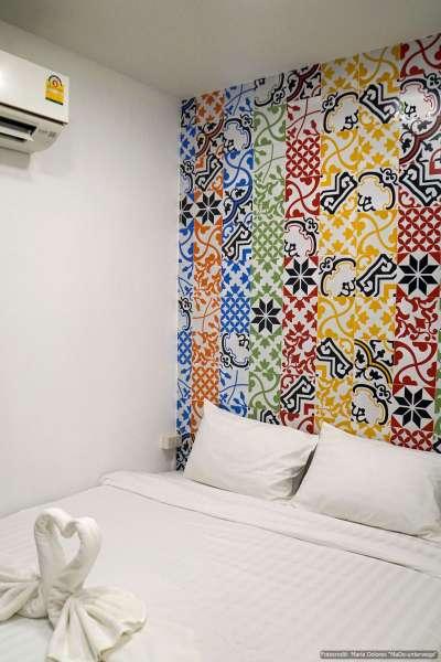 Phukhao Hostel in Chiang Mai: Zimmer (Reisetagebuch «Thailand als Alleinreisende ohne Roller entdecken»)