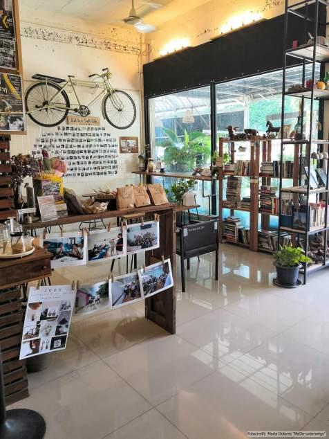 Rush Lush Craft Café in Sukhothai (Reisetagebuch «Thailand als Alleinreisende ohne Roller entdecken»)