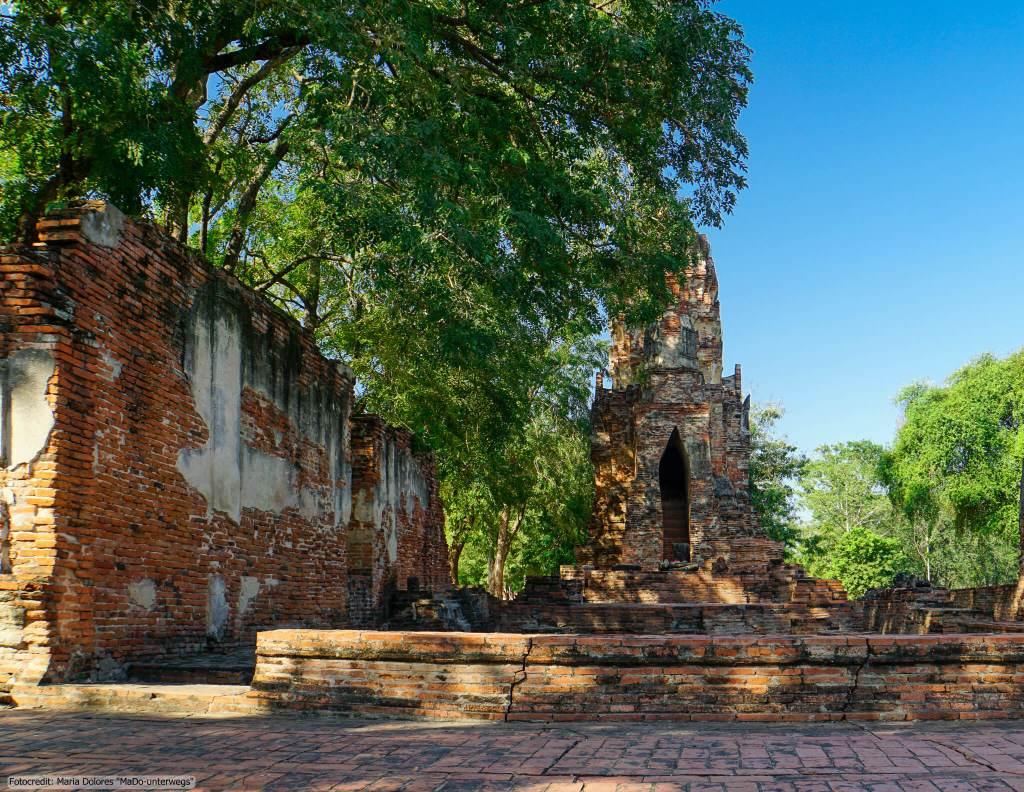 Wat Nok in Ayutthaya (Reisetagebuch «Thailand als Alleinreisende ohne Roller entdecken»)