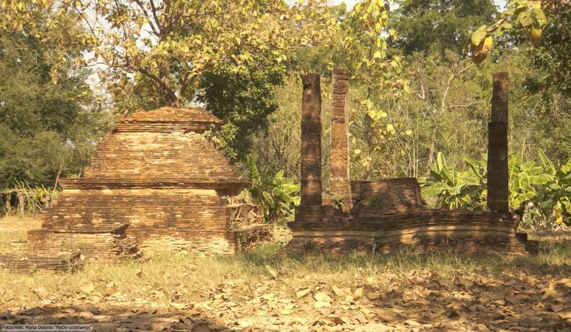 Wat Pasak im Sukhothai Historical Park (Reisetagebuch «Thailand als Alleinreisende ohne Roller entdecken»)