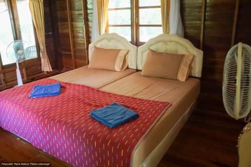 NamTok Bungalows auf Koh Yao Noi - Zimmer (Reisetagebuch «Thailand als Alleinreisende ohne Roller entdecken»)