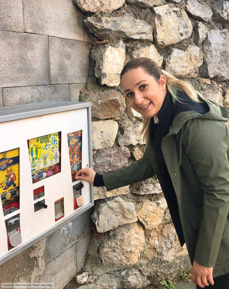 Wanderung am Schneeberg: Zurück in die Kindheit: A. und der Kaugummiautomat