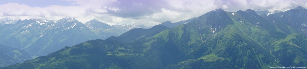 Bergpanorama Hohe Tauern_von der Schmittenhöhe_Zell am See [10 Tage Roadtrip Salzburg]