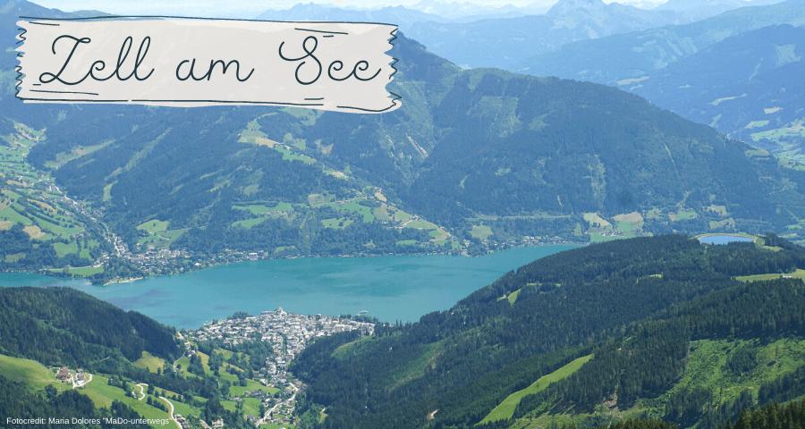 Blick auf Zell am See_von der Schmittenhöhe [10 Tage Roadtrip Salzburg]
