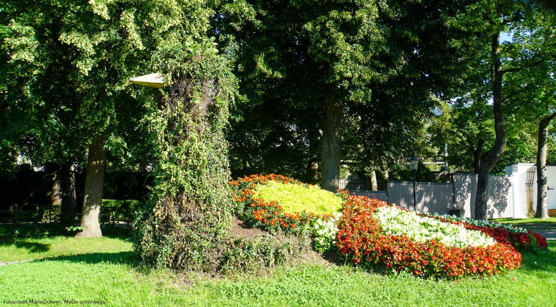 Gartenkunst an der Esplanade_Zell am See [10 Tage Roadtrip Salzburg]