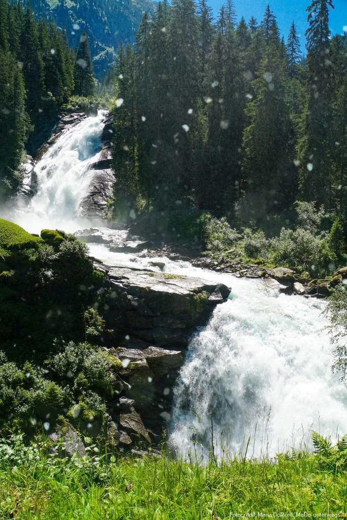 Krimmler Wasserfälle_vom Aussichtspunkt Jaga-Sprung [10 Tage Roadtrip Salzburg]
