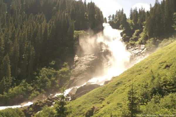 Krimmler Wasserfälle - zweite Wasserfallstufe [10 Tage Roadtrip Salzburg]