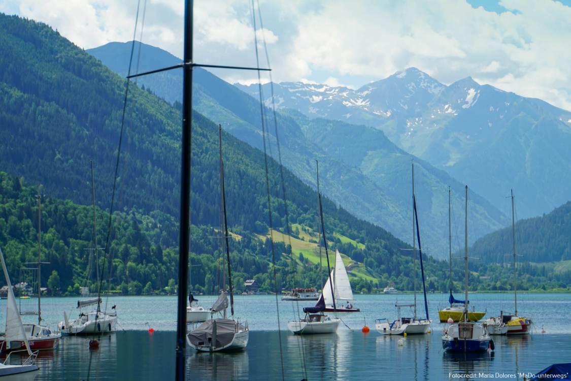 Nordufer des Zeller Sees - Yachtklub_Zell am See [10 Tage Roadtrip Salzburg]